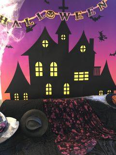 今日はハロウィンパーティーです
