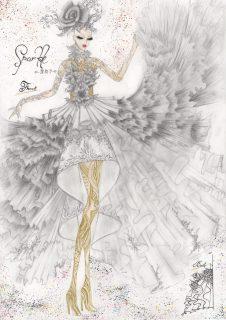 第4回全国高校生ウエディングドレスデザイン画コンクール結果発表!