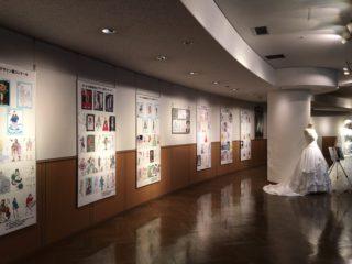 神戸ファッション美術館にて展示中!!