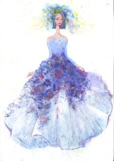 全国高校生ウェディングドレスデザイン画コンクール 入賞者